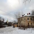 Усадьба Петровское (Княжищево) флигель и церковь