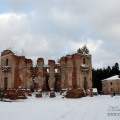 Усадьба Петровское (Княжищево) руины главного дома