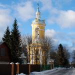 Усадьба Петровское Демидовых колокольня церкви Петра Митрополита