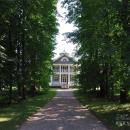 Усадьба Петровское Ганнибалов, главный дом со стороны парка