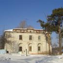 Усадьба Плещеево, главный дом, боковой фасад