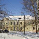 Усадьба Плещеево, главный дом со стороны двора