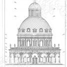 Усадьба Подмоклово, церковь Рождества Богородицы (фасад)