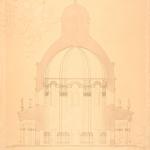 Усадьба Подмоклово. Церковь Рождества Богородицы, разрез