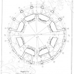 Усадьба Подмоклово, церковь Рождества Богородицы (план)