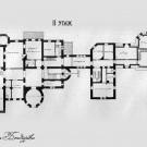 Усадьба Подушкино, замок Мейендорфов, план 2-го этажа