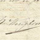 Подпись Надежды Веригиной (баронессы Мейендорф)