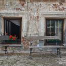 Гроза в усадьбе Подвязье, рядом с барским домом