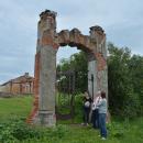 Усадьба Подвязье, ворота в парк