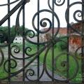 Усадьба Подвязье, решетка парадных ворот