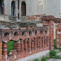 Усадьба Подвязье, декоративная ограда перед главным домом