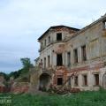 Усадьба Подвязье, дворец со стороны парка