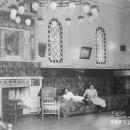 Усадьба Покровское-Рубцово, интерьер дома (архивное фото)