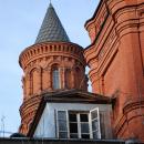 Усадьба Покровское-Стрешнево, главный дом, башенка