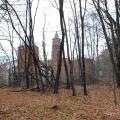 Усадьба Покровское-Стрешнево, главный дом в парке