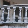 Усадьба Покровское-Стрешнево, главный дом (фрагмент фасада)