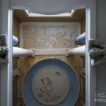Усадьба Покровское-Стрешнево, главный дом, интерьер парадной лестницы