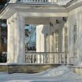 Усадьба Покровское-Засекино, терраса главного дома