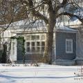Усадьба Покровское-Засекино, главный дом, боковой фасад