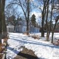 Усадьба Покровское-Засекино, главный дом, дворовый фасад