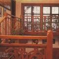 Усадьба Поленово, лестница