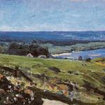 В.Д. Поленов. Вид из Бехова