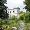Усадьба Поливаново, вид на главный дом из парка