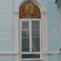 Усадьба Полоное бывший господский дом, фрагмент фасада