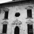 Усадьба Полтево, церковь Николая Чудотворца (фрагмент фасада). Фото Андрей Агафонов, 1 июля 1989.