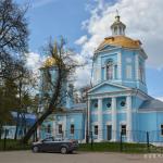 Усадьба Поречье Уваровых, церковь