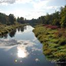 Усадьба Прямухино, река Осуга