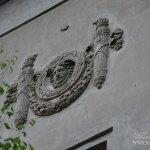 Усадьба Пущино, фрагмент декора дома