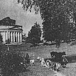 Усадьба Пятая Гора, церковь Троицы (фото 1960-х гг.)