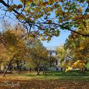 Усадьба Рай - Семеновское, вид на дом с парадного двора
