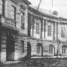 Дворец Разумовского в Москве, восточное крыло. Фото 1960-х гг.