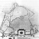Усадьба А.К. Разумовского в Москве, план, 1805 г.