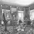 Дворец Разумовского на Гороховом поле, жилые апартаменты