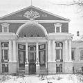Дворец Разумовского на Гороховом поле, фасад, ~ 1917 г.