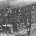 Дворец Разумовского на Гороховом поле, библиотека