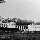 Усадьба Самуйлово. Фасад со стороны подъезда