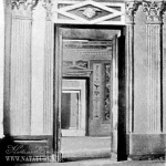 Усадьба Самуйлово. Деталь росписи зала