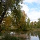 Усадьба Середниково пруд