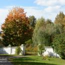 Усадьба Середниково, боковые ворота в парк
