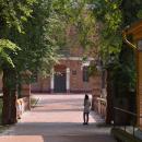 Усадьба Щапово, мост через ров и с/х школа