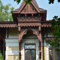 Усадьба Щапово, главный дом, фрагмент фасада