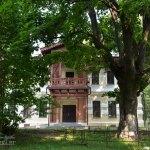 Усадьба Щапово, главный дом со стороны парка