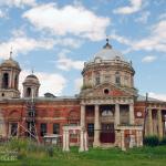 Усадьба Шкинь Духовская церковь. Фото Наталья Бондарева 2008 г.