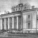 Усадьба Сиворицы. Дворец, архивное фото