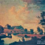 Вид в усадьбе П.Г. Демидова Сиворицы под Петербургом. С.Ф. Щедрин, ок. 1792 г