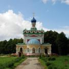 Усадьба Старожилово, церковь Петра и Павла, вид с востока